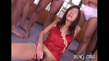 japan stunner gets many dongs to satiate her.
