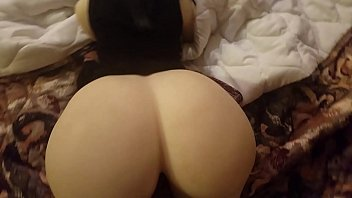(Sex Doll) Big Booty Brunette Cheating wife give her big ass to black Neighbor