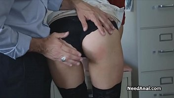 secretary039_s arse gobbled and nailed by.