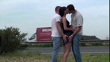 jizz on small girl039_s face in public street.