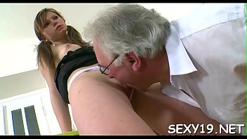 appetizing honey is getting her labia plumbed by.