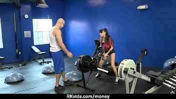 sensuous gal spoke into having romp for currency 11
