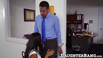 office employee pummels with bosses nubile stepdaughter at work