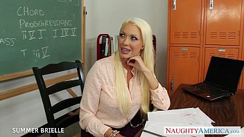 ash-blonde professor summer brielle boink in.
