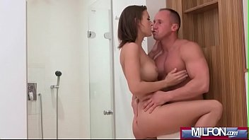 spectacular dark haired cougar gets creampiedjenifer jane 01 vid-14