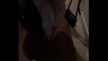 Fat ass teen walking in slow motion. Comment!