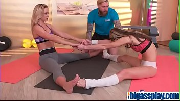 girly pals lure gym instructorcristal caitlin amp_ gina.