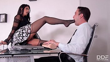 fabulous manager dame coco demal gets a crazy 3some