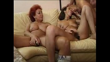 xhamster.com 4159199 german hairy redhead and brunette matures sharing a cock