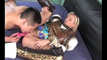 swordwoman cougar toughly buggered
